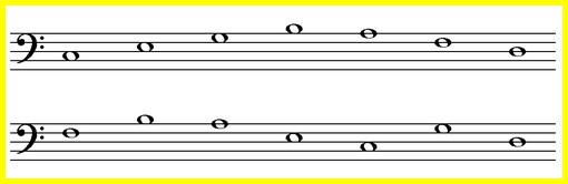 упражнения на запоминание нот басового ключа
